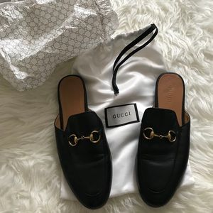 Authentic Gucci Princetown Loafer Mules Size 38